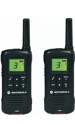 Motolora tLKR T60 Two Way Radio Twin Pack Used