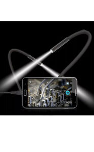 Brand new 2M 6 LED Scope endoscope/borescope photo/video camera