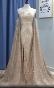 Brand New Champagne Grad Dress NEGOTIABLE