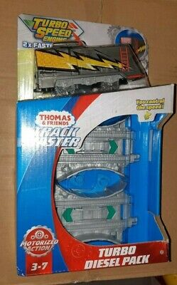 Thomas & Friends Track Master Turbo Speed Diesel Pack The Tank Engine 2X Faster
