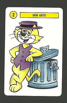 Top Cat 1991 Hanna Barbera Cartoon Card from Spain B