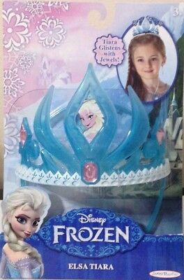 Disney Frozen ELSA TIARA  Costume Crown Snow Queen DressUp New - Popeye Dress Up