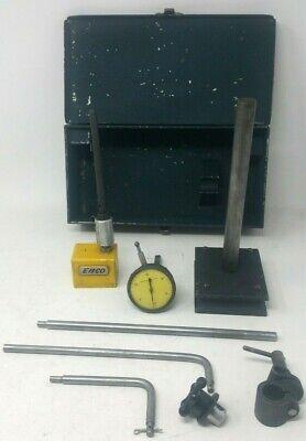 Brown Sharp 3174 Dial Set 733 Adj. Base Shaft Enco Mag Base Joint Clamps Rods