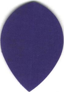Blue Teardrop Nylon Dart Flights: 3 per set