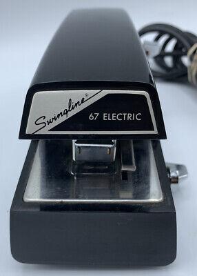 Swingline Electric Stapler Model 67 Desktop Heavy Duty 20 Sheet Ships Free