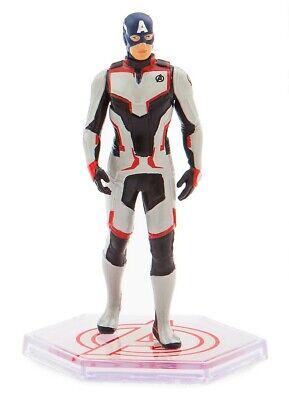 Avengers Endgame Captain America 4-Inch PVC Figure [Quantum Realm Suit Loose] - Captain America Suit Avengers