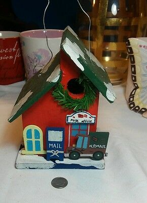 Christmas N.P. Mail Hanging Ornament/Bird House