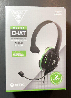 Turtle Beach Recon Chat Cable Auriculares Para Xbox Serie X [Black Edition]...