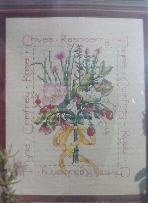 Better Homes And Gardens Cross Stitch (Better Homes and Gardens Cross Stitch Kit Blushing Bouquet #500132 Pinks)