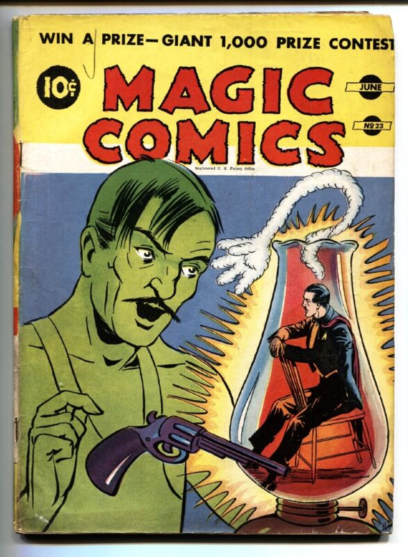 Magic #23 1941-McKay-Mandrake-Secret Agent X-9-Blondie