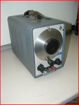 Hp 200cd Tube Audio Wide Range Oscillator Sine Wave Signal Generator Hewlett-pac