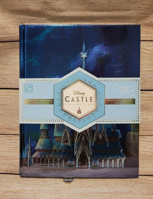 NEW Disney Parks 2020 Castle Collection FROZEN Journal Arendelle Limited