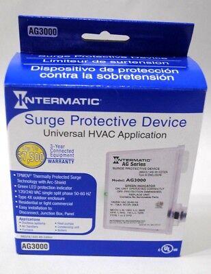 Intermaticgrasslin Ag3000 Surge Protector New