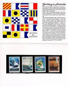 Australian Stamp Pack 1981 Yachting MUH Coffin Bay Lower Eyre Peninsula Preview