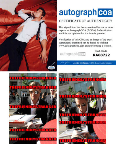 BRAD PITT signed Autographed 8X10 PHOTO c PROOF Once Upon A Time Hollywood ACOA
