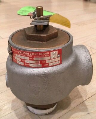 Kunkle Valve 337-1 Safety Relief Set At 15psig 2 Npt Ports Remanufactured