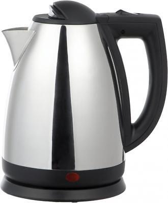 2 Liter Stainless Steel Tea Kettle - Brushed Stainless Steel
