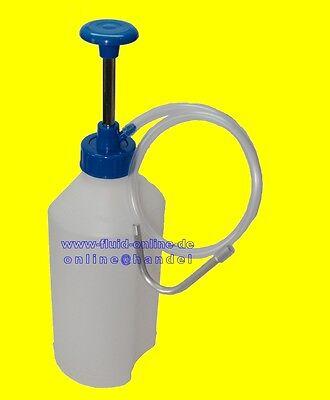BGS 8356 Einfüllpumpe 1 Liter Behälter Pumpe Handpumpe Öl Servoöl Getriebeöl