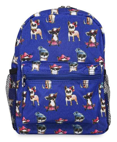 Jenzys Girls Fashion Dog Mini Toddler Backpack Bag For Preschool
