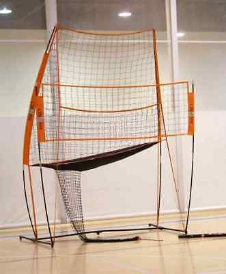 BowNet Volleyball 8'x11' Practice Station Portable Sports Net- Bow-VBPracticeNet