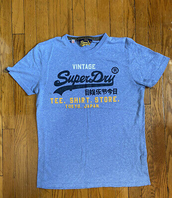 Superdry Rare Men's Blue Shirt, Size xl