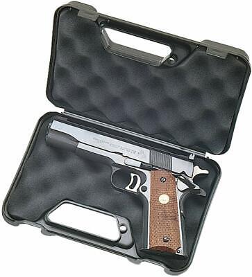 Hard Gun Case Travel Handgun Foam Storage Pocket Pistol Lock Carry Revolver -