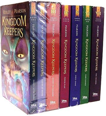 Kingdom Keepers Boxed Set By Ridley Pearson  2014  Paperback    Books 4 5 6 7