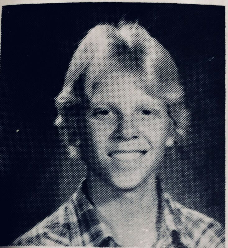 The Offspring Singer Dexter Holland HIGH SCHOOL Yearbook Celebrity Punk Rock