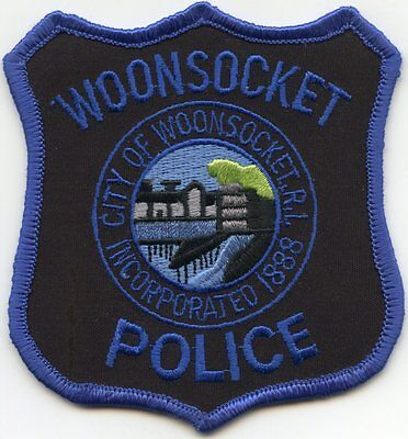 old vintage WOONSOCKET RHODE ISLAND RI POLICE PATCH
