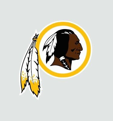 Washington Redskins NFL Football Color Logo Sports Decal Sticker - Free Shipping - Redskins Colors