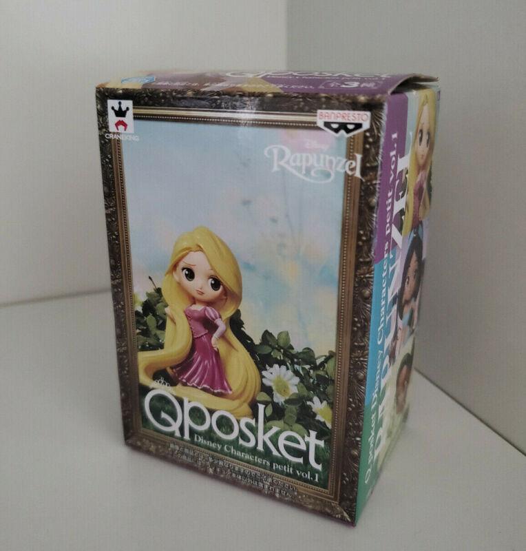 Q posket Disney Characters petit vol.1 Rapunzel Banpresto in original packaging