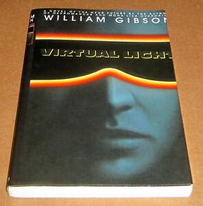SIGNED-WILLIAM-GIBSON-VIRTUAL-LIGHT-UNCORRECTED-PROOF-CYBERPUNK-Bridge-Trilogy