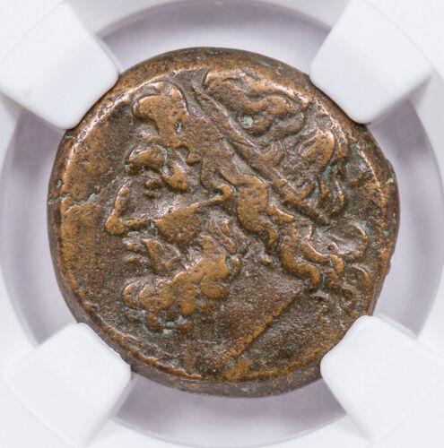 Sicily Hieron II c.275-215 BC AE Unit NGC VF SKU56750