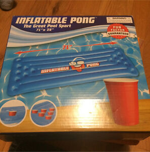 Inflatable Pong