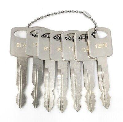 7 Ford Fleet Key Set ~ 1284x 0151x 1294x 0576x 1435x 0135x 1111x ~ Pentesting