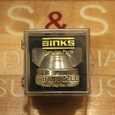 Binks 66pe Air Nozzle For Paint Gun - New