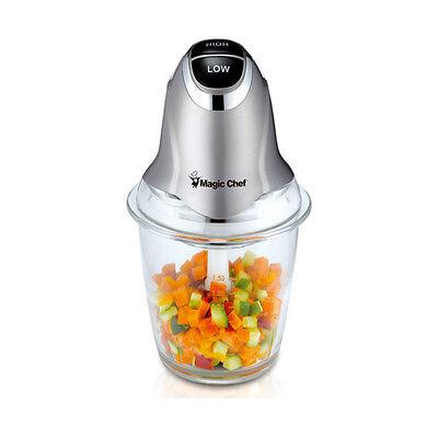 Magic Chef Electric Multi Food Processor Chopper Vegetable Meat Fruit Slicer