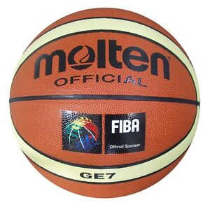 Molten-GE-7-Basketball-Size-7-Mens-Tan-Indoor-Outdoor