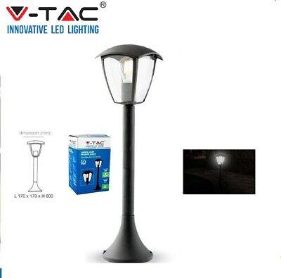 V-TAC PALO LAMPADA DA GIARDINO CON FISSAGGIO A TERRA PER LAMPADINE E27 VT-736