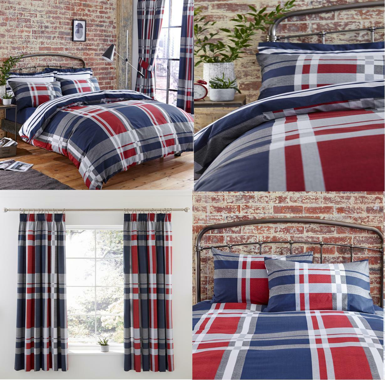 Charlotte Thomas NEVADA Stripe Duvet Covers Bedding Sets Or Matching Curtains