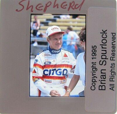 MORGAN SHEPHERD 1970-2014 NASCAR 4 WINS 10 POLES  ORIGINAL SLIDE 2