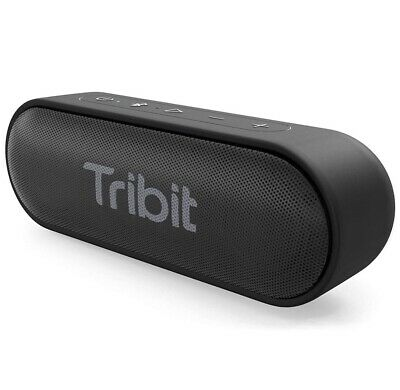 Bluetooth Speakers, Tribit XSound Go 12W Portable Speaker Loud Stereo Sound, IPX