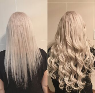Micro bead hair extensions in sydney region nsw hairdressing hair extensions pmusecretfo Images