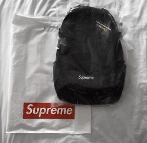 SUPREME BACKPACK SS18 - BLACK NEVER USED
