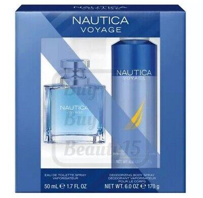 Nautica Voyage EAU DE TOILETTE 2 piece gift set for men, new with box