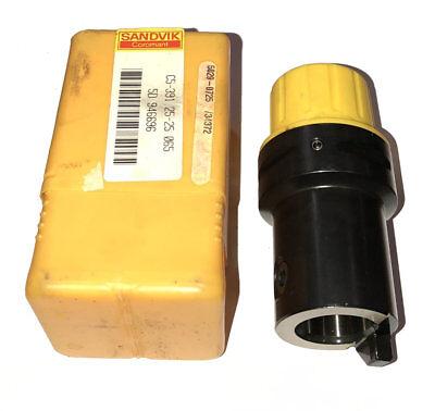New Sandvik Capto C5-391.25-25 065 25mm Whistle Notch Adapter