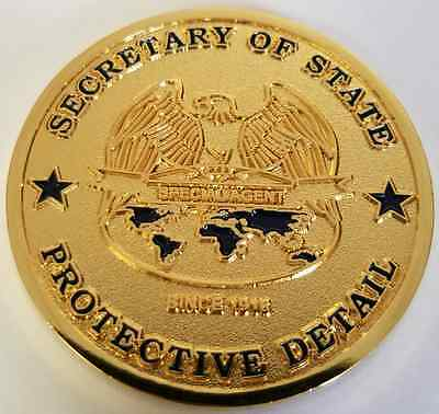 State Dept Dss Diplomatic Security Secretary Of State Secstate Protective Detail