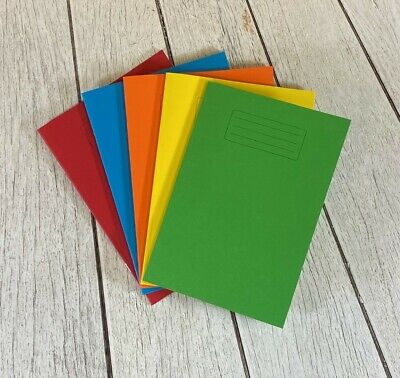 Exercise & Maths Books School A4 & A5 80 Page Lined & Squared Children Homework