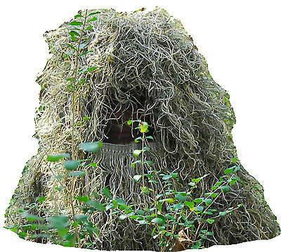 Ghillie Hood, Boonie hat, Woodland color, adjustable size, FREE SHIPPING!! (Cheap Ghillie Suits)