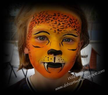 Professional Face Painter - Sunshine Coast / Brisbane Regions